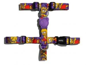 Zee.Dog H-Harness Lisa Simpson