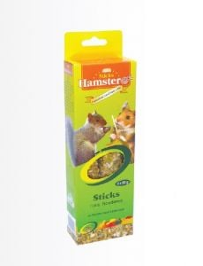Hamsterex Sticks with Fruits and Honey (2 x 60gr)