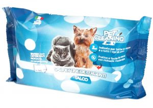 PET CLEANING Wet Wipes - (Pack Of 40) - Baby Powder