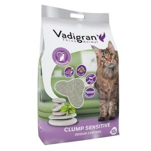 "Vadigran - Litter Bentonite ""SENSITIVE"" 12 kg"