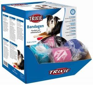 Trixie Surtido vendajes con sustancia amarga 5 cm / 4,5 m (27 pcs).