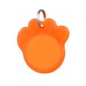 Trixie Security Tag for Dogs In Paw Shape