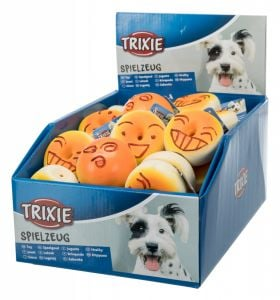 Trixie Assortment Bagels & Rolls Dog Toy - Ø 6 cm (Pack 44 Pcs.)