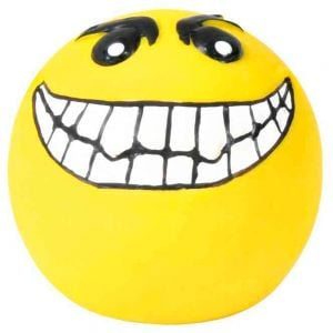 "Trixie Latex ""Smileys"" Balls - Ø 6 Cm (4 Pcs.)"