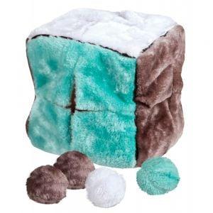 Trixie Teddy con el cubo de bolas de 4 - 21 cm