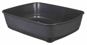 "Trixie Simple tray ""Classic"" For Cats (Dark Gray)"