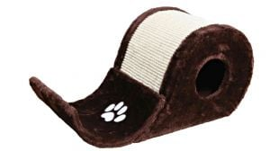"Trixie ""Plush"" Scratching Wave 48×27×24 cm (Brown/Natural)"