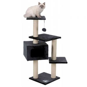 "Trixie ""Palamos"" Scratching Post 39 × 39 cm (Anthracite)"