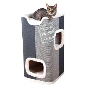 Trixie George Cat Tower - 78 cm (Light Grey / Anthracite)