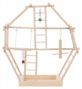 Trixie Wooden Ladder Playg - 44x44x16 Cm