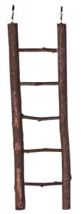 Trixie Ladder with 5 Steps Natural Wood 26 cm