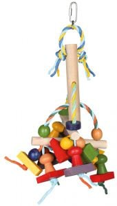Trixie Colorful toy Wood - 31 Cm