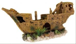 Trixie Aquarium Decor Shipwreck Polyresin in 36 cm