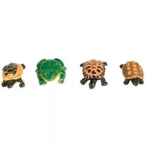 Trixie Figuras Decor. (Sapos E Tartarugas) P/ Acuario (Emb. C/ 12)
