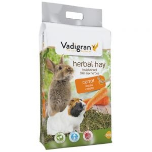 Vadigran Vadibed - Natural Hay With Carrot - 500 gr
