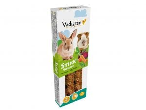 "Vadigran ""STIXX"" - Sticks With Vegetables For Rabbits And Pigs - 115 gr"