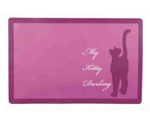 "Trixie Place mat for Cats Bowl ""My Darling Kitty"""