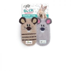 AFP Mouse Sock 2 Pack 12x7.2x1.5 cm