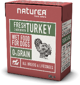 Naturea Wet Dog Chicken & Turkey 375 g