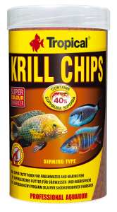 Tropical Krill Chips 250 ml