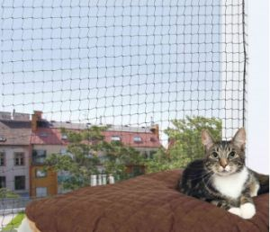 Trixie Protective Net for cats (Black)