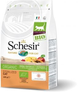 Schesir Bio Cat Sterilized Chicken 400g