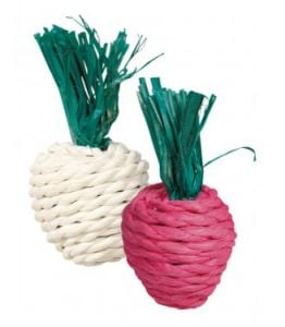 Trixie Radish And Small Radish Toy (2 Pcs.) - 8 Cm