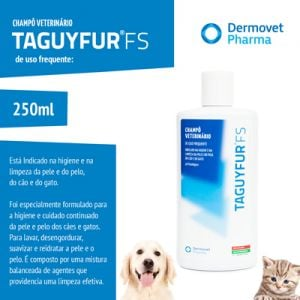 Dermovet Taguyfur FS - Hypoallergenic Veterinary Shampoo For Frequent Use 250 ml