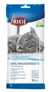 Trixie Bolsas de plástico para la camada Bandeja Gatos (10 unidades)