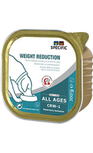 Specific Dog CRW-1 Weight Reduction | Wet (Terrina) 6 X 300 g