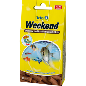 Tetra Min Weekend Food for Ornamental Fish 20 Sticks