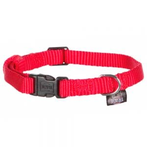 "Trixie Coleira Nylon ""Classic"" (Red)"