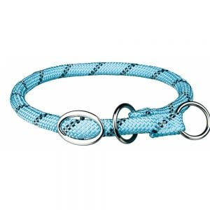 "Trixie Semi-Estrang. ""Sporty Rope"" (L-XL) 55cm/ 13mm (Azul Claro)"