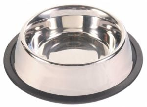 Trixie Bowl Anti-Slip Stainless for Dogs