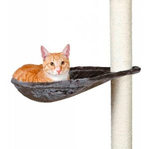 Trixie Hammock for Scratching Posts, Grey, ø 40 cm